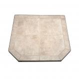"Carmel Tile Stove Board, Double Cut, 40"" x 40"""