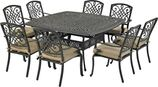 Patio Resort SQDTMN64-BT2 Bridgetown 9-Piece Dining Set