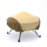 Dura Covers LRFP5529 44in Heavy Duty Round Fire Pit Cover in  Two Tone