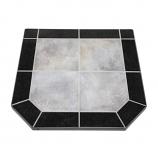 "Night Shadows Tile Stove Board, Double Cut, 40"" x 40"""