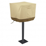 Veranda Park Style Charcoal Grill Cover in Pebble