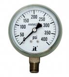 """Zenport APG400 0 - 400 PSI NH3 """"Ammonia"""" Pressure Gauge"""