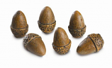 6 Acorns - Single Pack For Vented Gas Logs By RH Peterson Co.