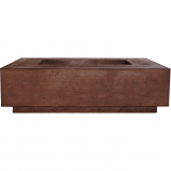 Prism Hardscapes Tavola 1 Fire Table in Cafe - LP