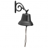 American Crafted Medium Sized Outdoor Bell - Black