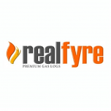 """Real Fyre 42"""" Vented Glass Pan Burner Only for High Altitude Areas"""
