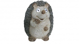 "15"" Solar Hedgehog Statue By Alpine"