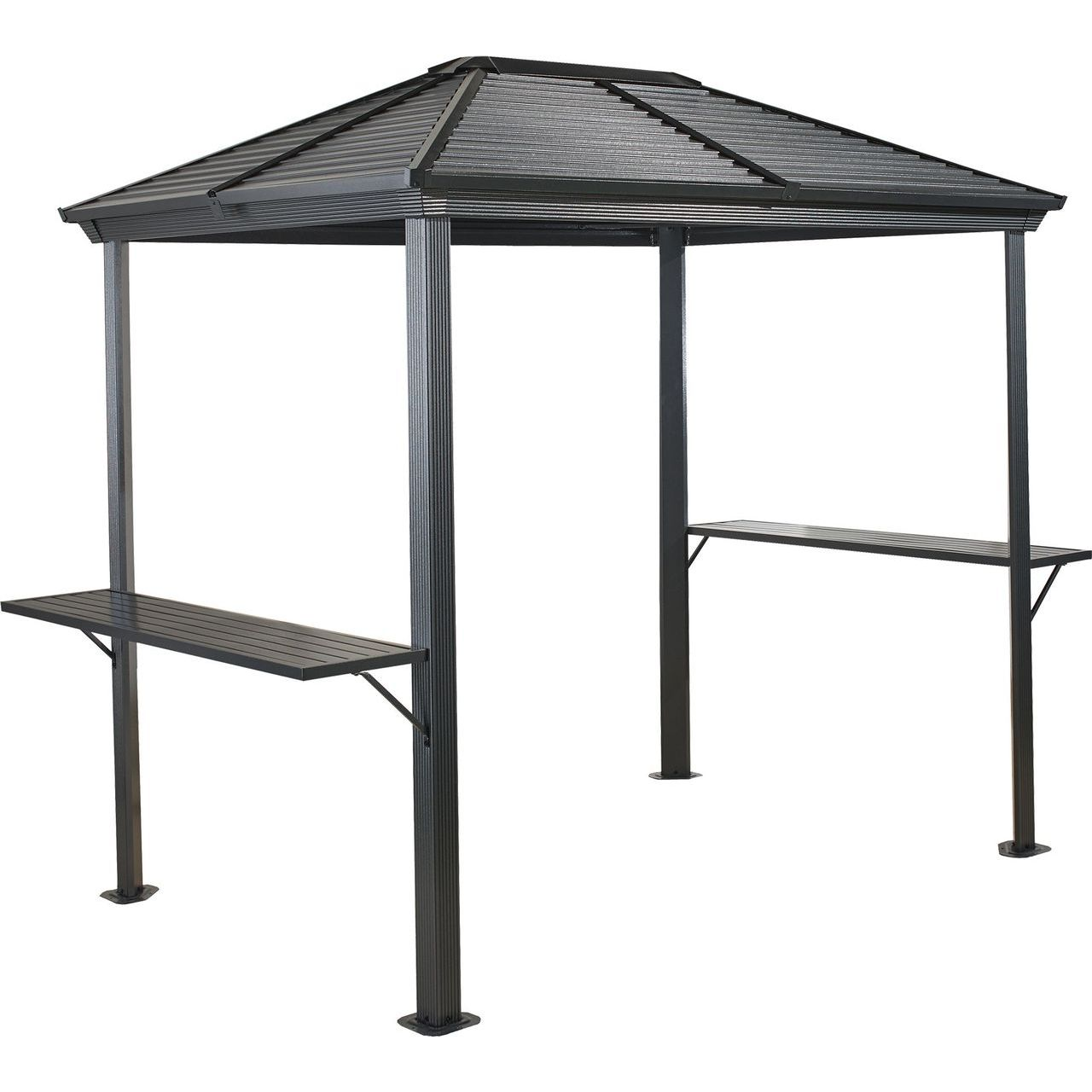 Sojag Barbeque Ventura #93D Gazebo With Steel Roof -  5x8 Ft