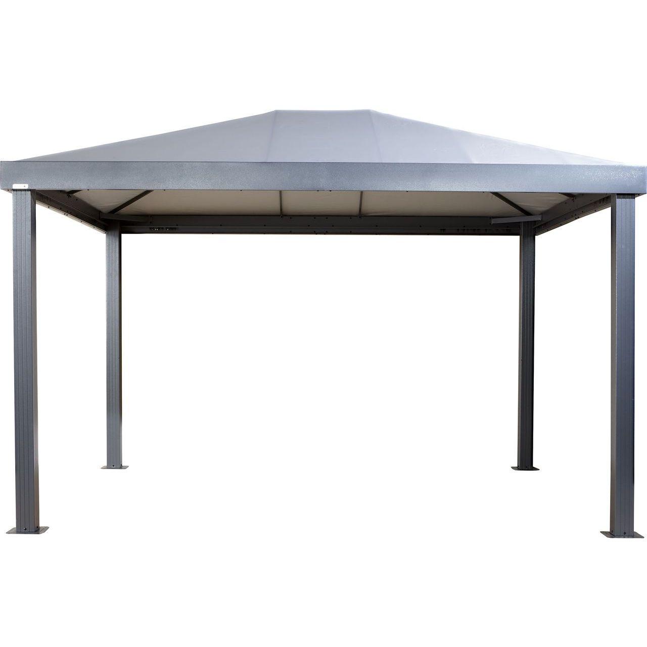 ShelterLogic 500-9166842 Sojag Monteserra Gazebo in Grey - 10x12 ft