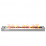 Regal Flame EBP4036 Pro 36in Bio Ethanol Fireplace Burner Insert - 7.4 Liter