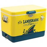 Shelter Logic Margaritaville Landshark Powder Coated Cooler - Yellow