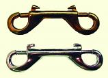 Henssgen BC163BT BULK 4.75in Double End Bolt Snap - Brass