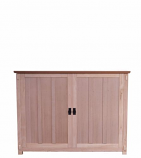 """Elevate Anyroom Lift Cabinet for 42"""" Flat Screen TV - Unfinished Oak"""
