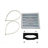 "Osburn AC01298 5"" Oval Fresh Air Intake Kit for Matrix Insert"