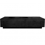 Prism Hardscapes Tavola 5 Fire Table in Ebony - LP