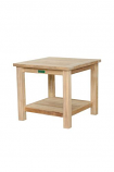 "22"" Square 2-Tier Side Table By Anderson Teak"