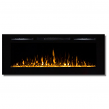 Regal Flame LW2050CC Fusion 50in Wall Mounted Electric Fireplace - Crystal