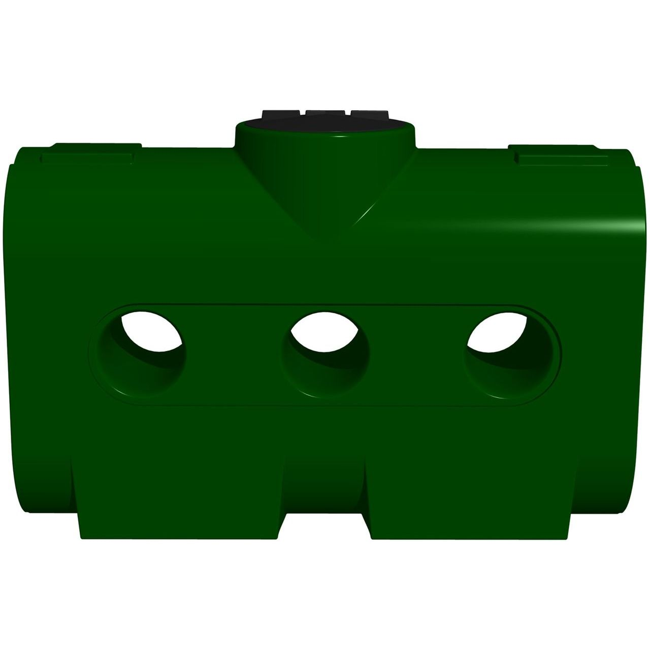 RTS Rectangular Harvest Tank 214USG/178IG/810L in Green