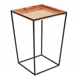 Achla FB-46C Tall Arne Stand with Copper Tray