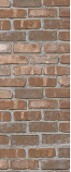 American Chimney Supplies Decorative Chimney Housing Kit - Brown Brick