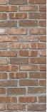 American Chimney Supplies Decorative Chimney Housing Kit - Brown Brick