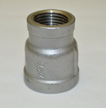 HPC 0.5 x 3/8 Inch Stainless Steel Reducing Couple