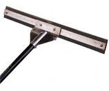 "Midwest Rake 28 Aquatic Weed Eradicator Rake W/ 11' Aluminum Handle With Blade"""