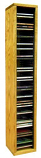 The Wood Shed 109-3 CD Storage Cabinet - Clear
