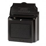 Wall Mailbox - Black By Whitehall Products
