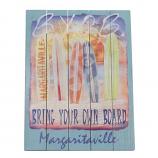 Shelter Logic PSSR24-MV-1 Margaritaville Rectangle Wall Art Byob Sign