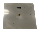 HPC 18 Inch Stainless Steel Flat Square Firepit Pan