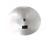 HPC 24 Inch Stainless Steel Flat Round Firepit Pan