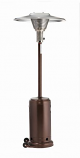 Antique Bronze Patio Heater with Reflector - Propane