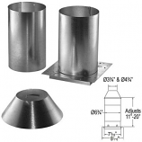 """Galvanized Attic Insulation Shield - 5"""" x 8"""""""