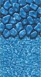 GLI Pool 050015RDBLDOL4852 15ft Round 45-52in Overlap Boulder ABG Liners