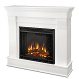 Chateau Electric White Fireplace