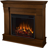 Real Flame 5910E-E Chateau Electric Fireplace - Espresso