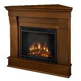 Chateau Corner Electric Espresso Fireplace