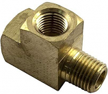 Waterco 88B6013 Brass 0.25in Street Tee