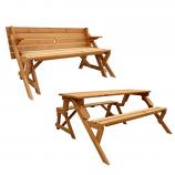 Convertible Picnic Table and Garden Bench