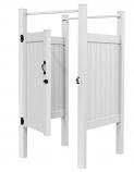 Xpanse Shower Combo Kit (2 Walls, 4 Posts, Rails, Gate, Hardware)