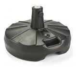 Patio Living Concepts 00320 70 lb. Free Standing Umbrella Stand- Black