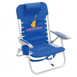 Margaritaville 4-Position Backpack Beach Chair - Pacific Blue