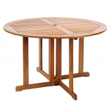 """48"""" Round Folding Table By ACHLA Designs"""