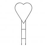 Achla TSW-12KD Heart Hanger