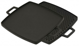 """Cast Iron Reversible Square Griddle/Grill 10.5"""" x 10.5"""""""