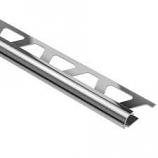 Alpha AT4501CRW 45 deg Aluminium 1x1ft Bull Nose White by Trivector