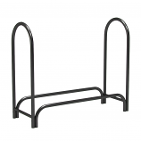 Regal Flame LRFP1002 4ft Heavy Duty Outdoor Firewood Holder in Black