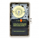 Intermatic T101P3 Time Switch SPST Outdoor Type 3R Plastic 120 VAC