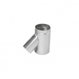 "Aluminum 5"" Selkirk Flexi-liner Wye with 3"" Leg"